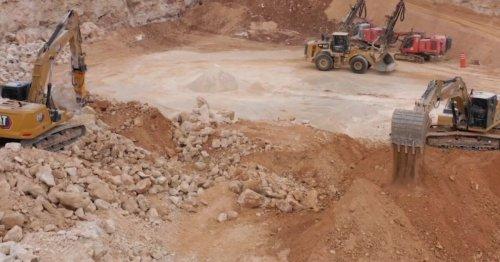 El banco de materiales de Sisnichén, Yucatán, es clave para el Tren Maya