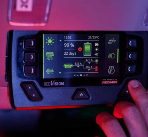 REDARC's new Manager30R Gets Color Display and App Connectivity