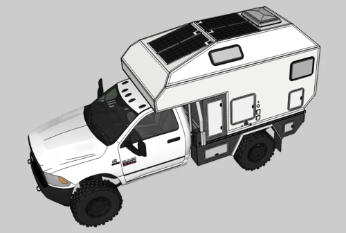 Video of the Week: 600-pound ATerra Tacoma Overland Camper