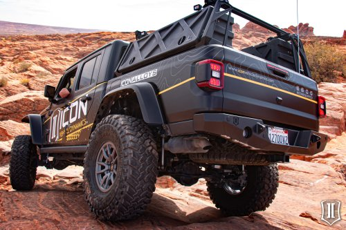 Icon Vehicle Dynamics Pro Series Rear Bumper for Jeep Gladiator JT - Expedition Portal