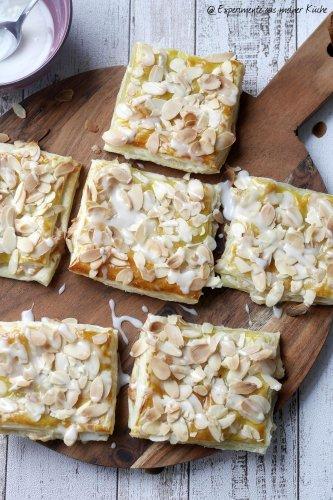 Blätterteig-Marzipan-Taschen - Experimente aus meiner Küche