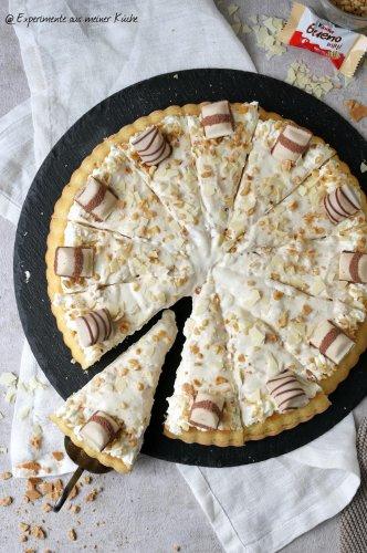 Kinder Bueno White - Torte - Experimente aus meiner Küche