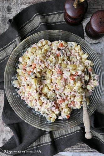 Polnischer Kartoffelsalat nach Oma Gerda - Experimente aus meiner Küche