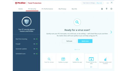 McAfee Total Protection review: Quick, effective and affordable