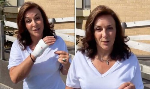 'There was blood everywhere!' Shirley Ballas taken to A&E after gory knife accident