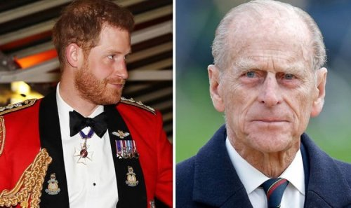 Prince Harry military title: Prince Philip's Royal Marines role Harry had to give up