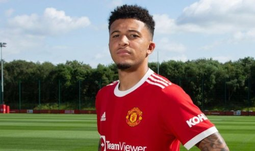 Jadon Sancho issued surprise Man Utd shirt number as Edinson Cavani theories shot down