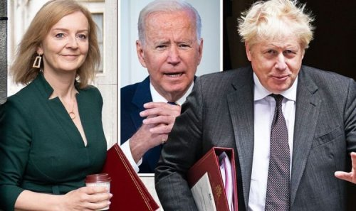 Boris and Truss to launch USA charm offensive as PM flies to New York for Biden meeting