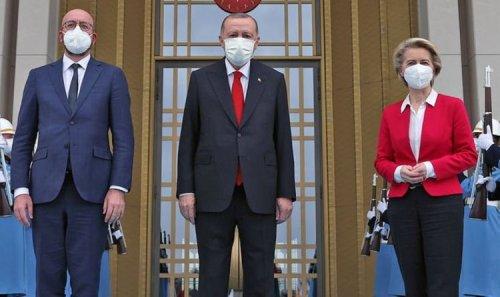 Von der Leyen's 'disgraceful' Turkey visit backfires after Erdogan arrested 10 admirals