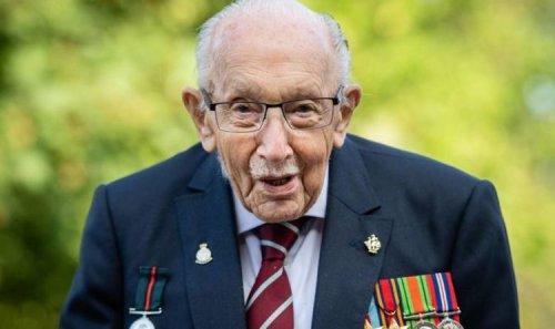 'Should be ashamed' Fury at 'wanton vandalism' of Captain Tom Moore's memorial