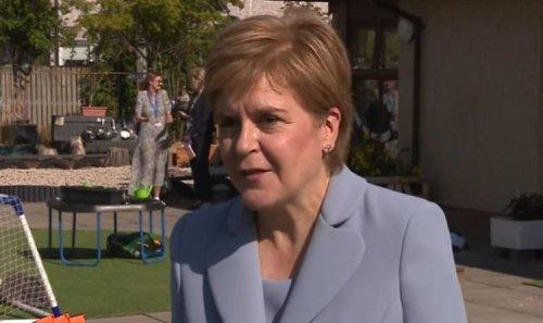 'I just find it odd!' Nicola Sturgeon breaks silence on Boris 'snub' during Scotland visit