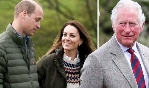 Prince William says Kate is getting him into Monty Don so he can bond with his dad Charles