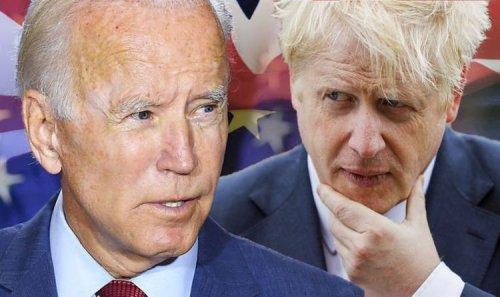 Joe Biden to deliver major Brexit trade blow - US president pulls rug from under Boris