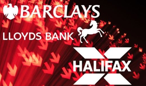 Bank MELTDOWN as Barclays, Halifax, Lloyds, TSB and Tesco Bank NOT WORKING for thousands