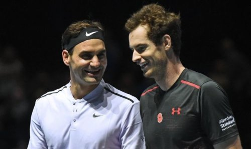 Andy Murray sends message to Roger Federer as pair struggle for form ahead of Wimbledon