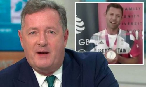 Piers Morgan savaged by Team GB Olympic medal winners 'Say we don't deserve this'