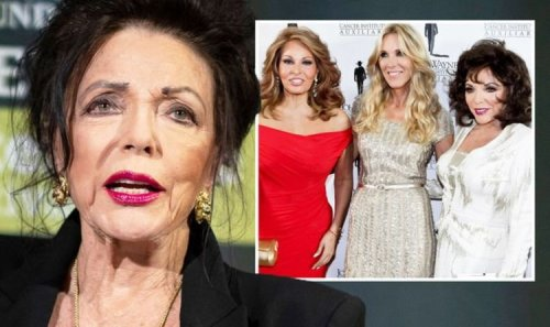 Joan Collins defends calling Raquel Welch's teeth 'bit big': 'Known her forever!'