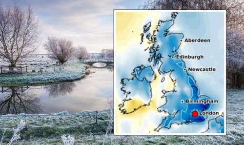 UK weather forecast: Britons brace for bitter 1C Atlantic blast 'cold enough for snow'
