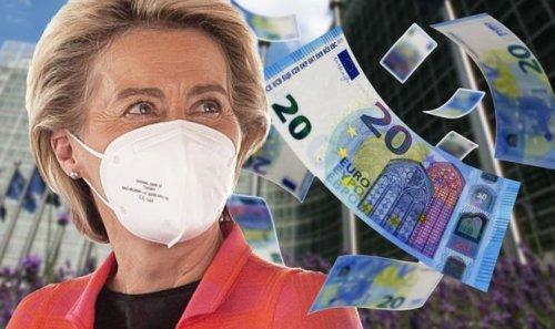 Von der Leyen's £685bn bailout is massive fraud risk – EU's own corruption watchdog admits