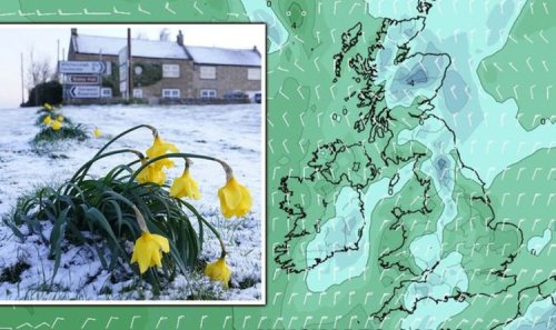 Weather forecast: UK braces for -5C April freeze after coldest April day in 8 years