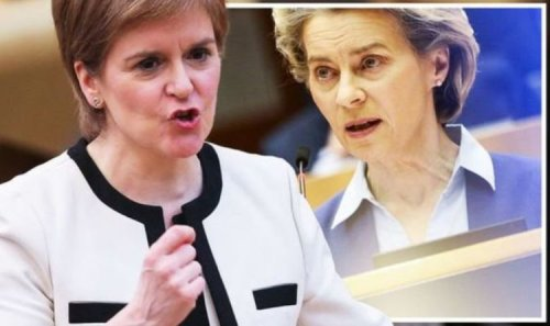 Fury at Sturgeon's £8million bill for overseas offices promoting 'Scottish independence'