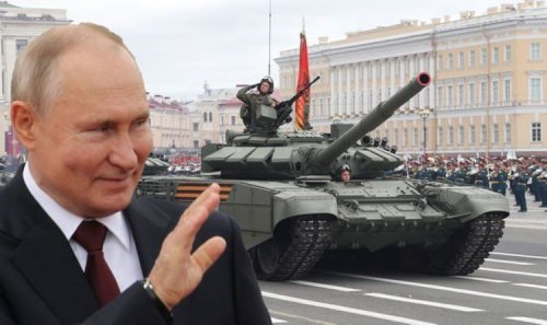 Russia poses 'serious threat' to UK as Putin develops war chest of advanced weapons