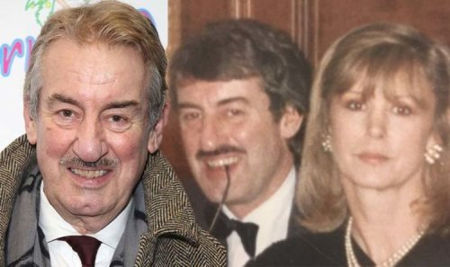 John Challis' widow in poignant discovery after Only Fools star's death 'Is it a message?'