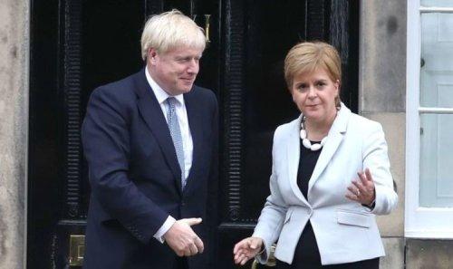 Call Nicola's bluff! Boris Johnson urged to call snap Scottish independence referendum