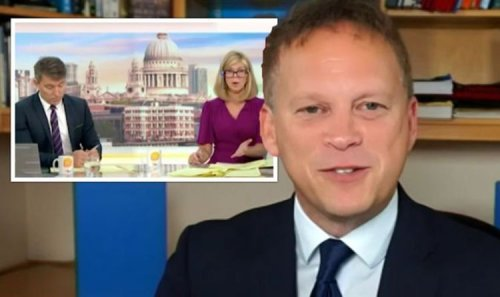 'Completely and utterly reject that' Grant Shapps slaps down Kate Garraway in HGV row
