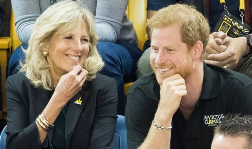 Prince Harry's speech with Jill Biden left royal fans feeling 'snoozy' - 'Not for us'