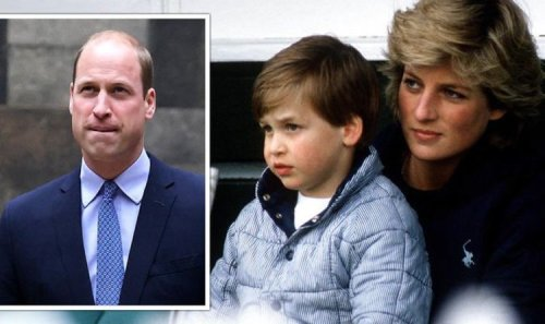 Prince William 'hated the publicity' - author lifts lid on Princess Diana's chat