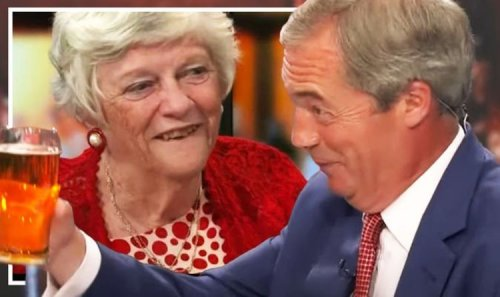 Farage and Widdecombe trade gushing tributes to shared Brexit history 'You won Nigel!'