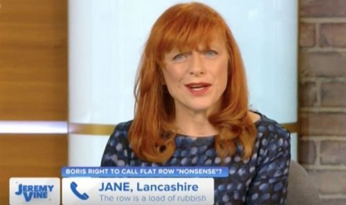 Vine caller erupts in furious outburst at Dr Sarah Jarvis 'Never forgave Boris for Brexit!