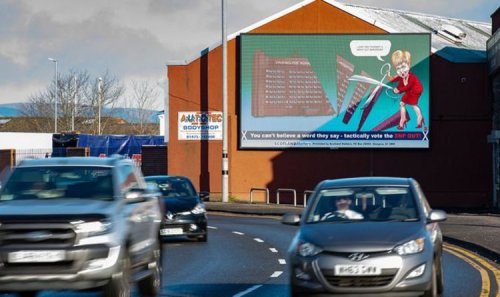 Nicola Sturgeon publicly shamed as huge billboard blasts First Minister's 'empty promises'
