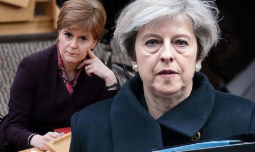Nicola Sturgeon's desperate plot to rejoin EU torpedoed by Theresa May - new analysis