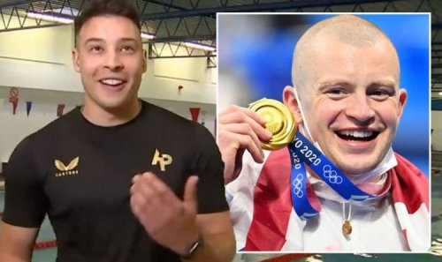 'Trying not to cry' Adam Peaty training partner fights back tears in emotional GMB chat