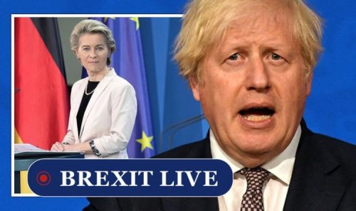 Brexit LIVE: Boris considers 'nuclear option' as anger with hated EU deal boils over