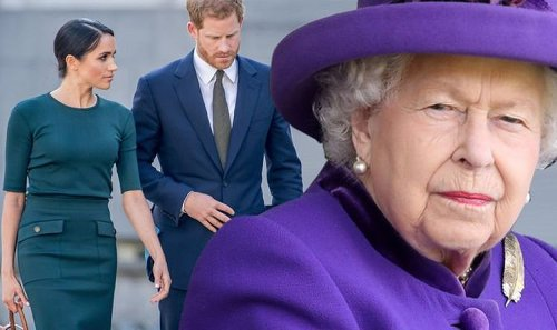 Royal Family has 'no appetite' for Meghan and Harry to lose their Duke and Duchess titles