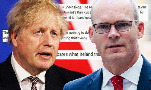 'UK under siege!' Britons furious as Ireland attempts to slap Boris with Brexit deadline