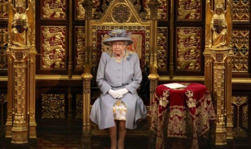 Queen sat alone in Parliament as poignant reminder of Prince Philip was 'not needed'