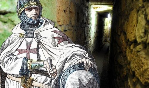Knights Templar mapped: Secret underground network of society linked to Holy Grail