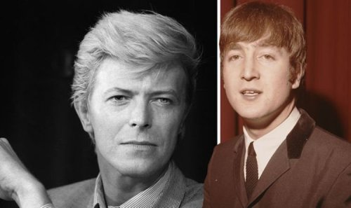 John Lennon wrote a David Bowie chart-topper and helped sing on it