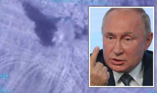 Russia war fears erupt as Putin's artillery blown up on Kremlin's doorstep