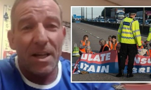 HGV driver says truckers hit with FINES because of Insulate Britain 'employers don't care'