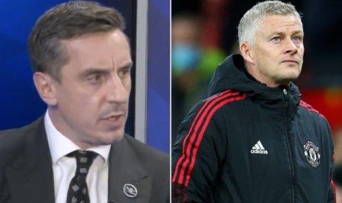 Gary Neville makes Ole Gunnar Solskjaer sack prediction after Man Utd smashed by Liverpool