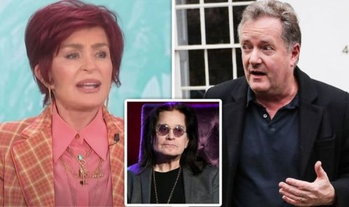 Sharon Osbourne 'slapped' Piers Morgan in clash before husband Ozzy urged her to apologise