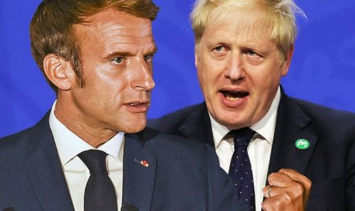 Not worth it! Enraged Macron treats UK with 'contempt' in 'deliberate slight' over US row