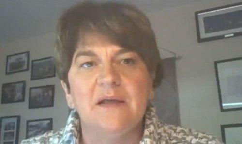 'Queen set standard high!' Arlene Foster slams Irish President's Royal Family snub