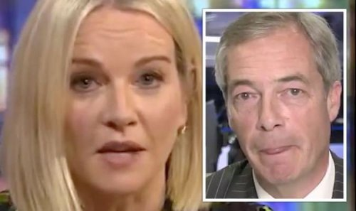 Nigel Farage's Irish history attack shut down in five-word takedown 'Don't lecture us!'