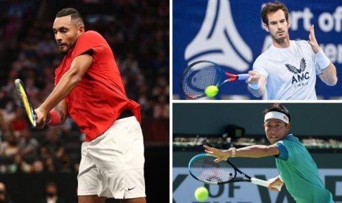 Nick Kyrgios snubs Roger Federer, Rafael Nadal and Novak Djokovic for Andy Murray